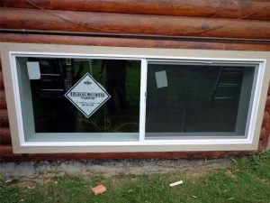 Anchorage window installation by Builders Millwork Supply