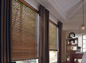 Hunter Douglas window coverings and blinds at Builders Millwork Supply
