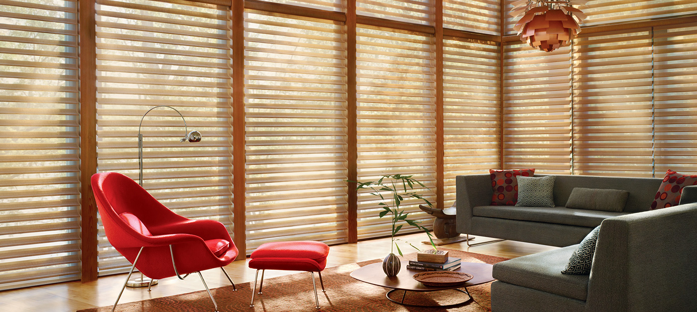 Anchorage window coverings blinds for Hunter douglas motorized blinds parts