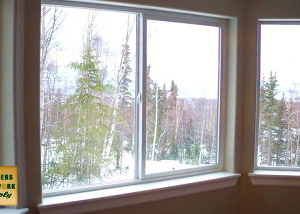 Builder's Millwork Supply Energy Efficent Window Installation in Anchorage Alaska