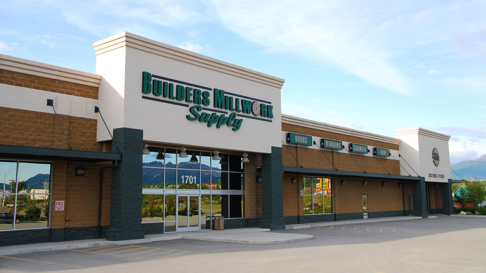 Builders Millwork Supply in Anchorage Alaska