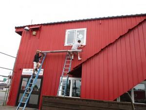 Builders Millwork Supply window installation job in Anchorage Alaska