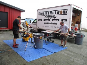 Builders Millwork Supply provides professional window installation in Palmer