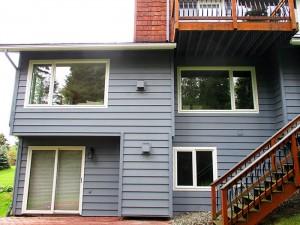 Window installation by Builders Millwork Supply in Anchorage