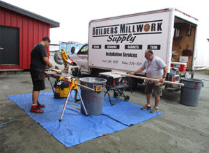 Builders Millwork Supply Window Installation Job